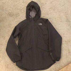 Girls northface rain jacket size L and EUC!!!